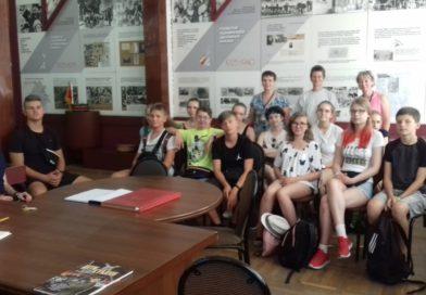 Встреча с немецкими школьниками