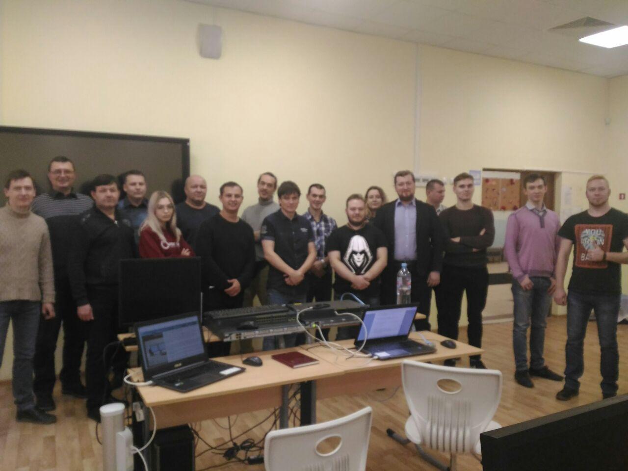 Московский мастер-класс по «Системному администрированию».