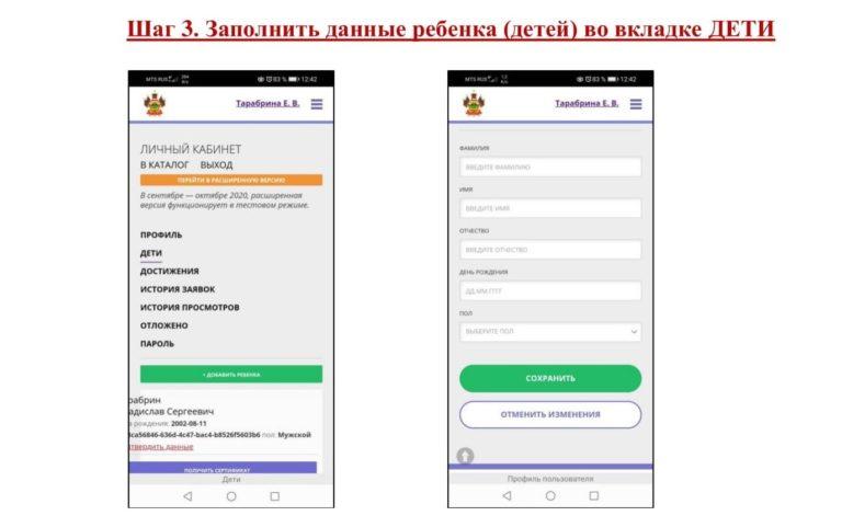Инструкция мобильная 3