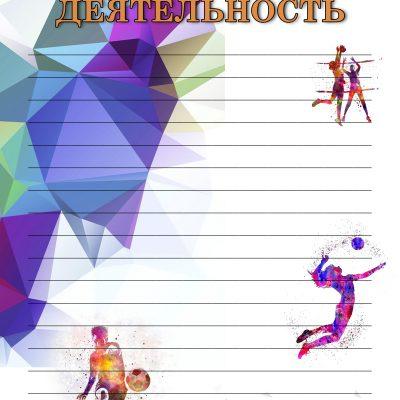 16 стр.Портфолио Спортивные достижения линии 9-11 класс
