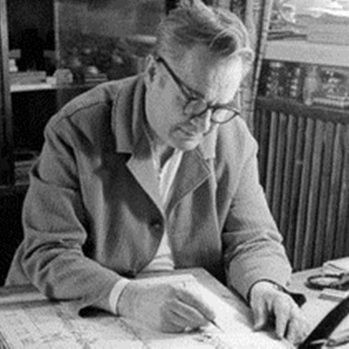 Советский график, народный художник СССР, главный редактор журнала «Весёлые картинки» Иван Семенов.